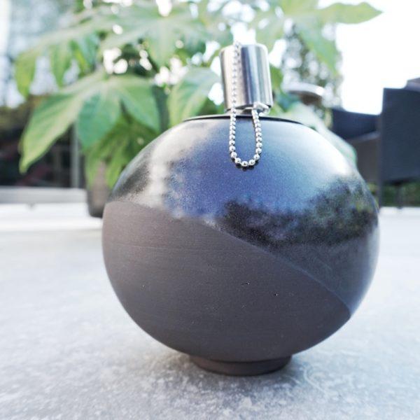 Lampe à huile - noir